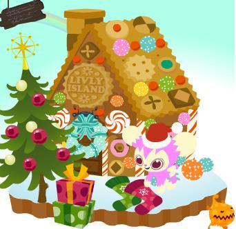 お菓子の家設置.jpg